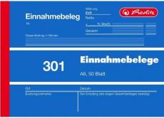Formularblock Einnahmebeleg A6 50 Blatt Herlitz (Nr. 301)