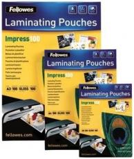Laminierfolie A4 2x100my 303x216mm glänzend Fellowes