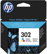 ORIGINAL Original Tinte HP 302 / F6U65AE, ca. 165 S., farbig