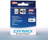 ORIGINAL Original Beschriftungsband Dymo 40910, 9mm x 7m, schwarz auf transparent