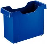 Hängebox 400x275x170mm Leitz m. Griffmulden Kunststoff blau ohne Inhalt Uni-Box