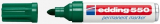 Permanentmarker Edding 550 3-4mm Rundspitze grün