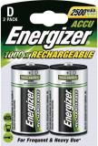Akku Mono Energizer aufladbar, D/HR20, 2500 mAh (13875)