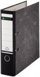 Ordner A4/8cm Pappe Standard schwarz Leitz 1080 mit 180 Grad Hebelmechanik