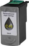 ALTERNATIV Alternativ Tintenpatrone ersetzt Canon  PG-40, ca. 329 S., schwarz
