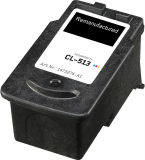 ALTERNATIV Alternativ Tintenpatrone ersetzt Canon  CL-513, ca. 349 S., farbig