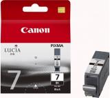 ORIGINAL Original Tinte Canon PGI-7BK, ca. 570 S., schwarz