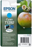 ORIGINAL Original Tinte Epson T1292, ca. 580 S., cyan