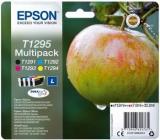 ORIGINAL Original Tinte Epson T1295, Multipack, schwarz / cyan / magenta / gelb