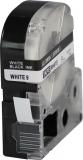 ALTERNATIV Alternativ Beschriftungsband ersetzt Epson LC-3WBN (zB LW300), sw. auf w, 9mmx8m