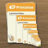 Laminierfolie  (90x60mm), 2x 125my, PRINTATION - wir machen Qualität preiswert