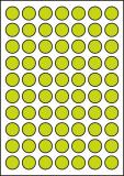 PRINTATION Papier-Etiketten Durchmesser 24mm 100xA4 à 70 Eti.