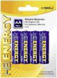 Batterien Mignon Heitech 1.5 V, AA/LR06, E91 (1,5 V-2.300mAh)