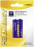 Batterien E-Block Heitech, E12, 6LF22 (9V-500mAh)