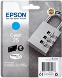 ORIGINAL Epson WorkForce Pro WF-4720DWF Tinte cyan 35 (C13T35824010)