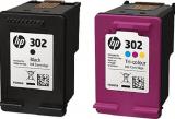 ORIGINAL Original Tinte HP 302MULTI / X4D37AE, Multipack, schwarz / farbig
