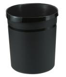 Papierkorb aus Plastik 18 l schwarz (18190-13) HAN