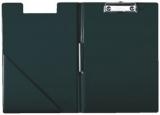Klemmbrettmappe A4 Leitz schwarz mit Deckel kunststoffüberzogen, abwaschbar