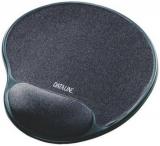 Mousepad Gel-Rest Dataline schwarz mit Handauflage