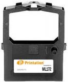 PRINTATION Printation Farbband / Farbrolle ersetzt Oki 9002303 (zB ML172), schwarz