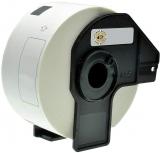PRINTATION Printation Einzel-Etiketten ersetzen Brother DK11208, 38mm x 90mm, 400 St., weiß