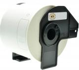 PRINTATION Printation Endlos-Etiketten ersetzen Brother DK22205, 62mm x 30,48m,  weiß