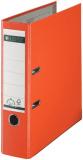 Ordner A4/8cm Plastiküberzug außen orange Leitz 1010 mit 180 Grad Hebelmechanik