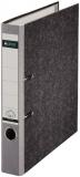 Ordner A4/5cm Pappe Standard grau Leitz 1050 mit 180 Grad Hebelmechanik