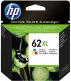 ORIGINAL Original Tinte HP 62XL / C2P07AE, ca. 415 S., farbig