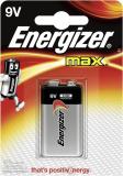 Batterien E-Block Energizer Max, E12, 6LF22 (9V-600mAh)
