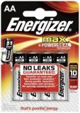 Batterien Mignon Energizer Max,1,5 V, E91, AA/LR06, (1,5 V-3.000mAh)