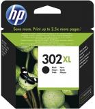 ORIGINAL Original Tinte HP 302XL / F6U68AE, ca. 480 S., schwarz
