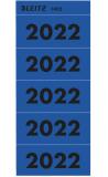 Inhaltsschildchen Jahreszahlen 2022 selbstklebend Leitz blau 14220035
